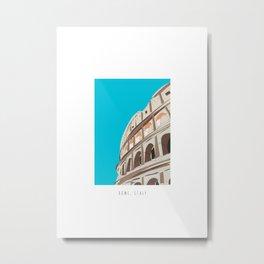 Rome, Italy Colosseum Mini Metal Print