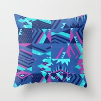 pocahontas Throw Pillows featuring Pocahontas by Sammy Cee