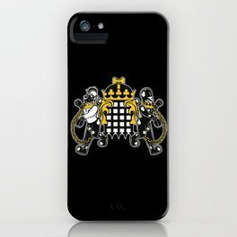 Crest of Dog iPhone Case