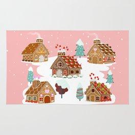 Gingerbread Village Rug