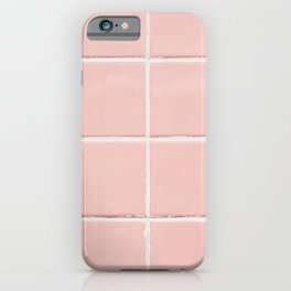 Pink Wall iPhone Case