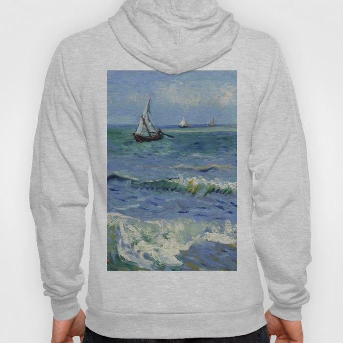 """Vincent Van Gogh """"The Sea at Les Saintes-Maries-de-la-Mer"""" Hoody"""
