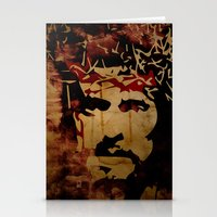 christ Stationery Cards featuring Jesus Christ by Ed Pires