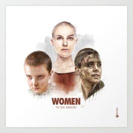 WOMEN // The Real Warriors Art Print