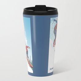 Stark Spangled Sledding (Recipe for a Concussion) Travel Mug