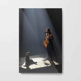 Jared & Ivy Metal Print