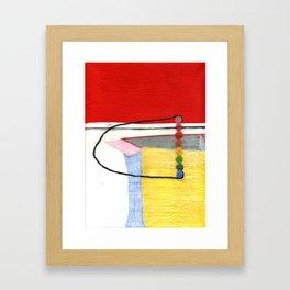 Rainbow Box Framed Art Print