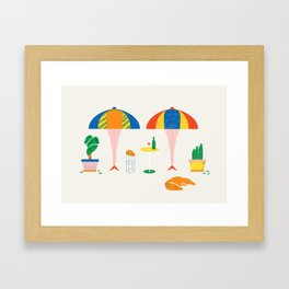 SIESTA Framed Art Print