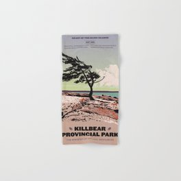Killbear Provincial Park Hand & Bath Towel