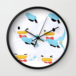 Donald Tsums Wall Clock