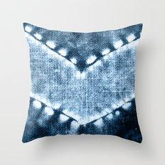 SHIBORI N3 Throw Pillow