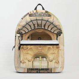 Paris art nouveau Backpack