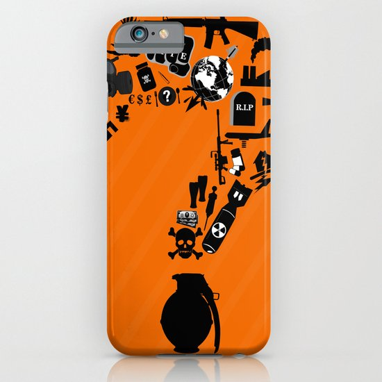I am asking Why? iPhone & iPod Case