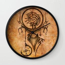 Zodiac:  Virgo Wall Clock