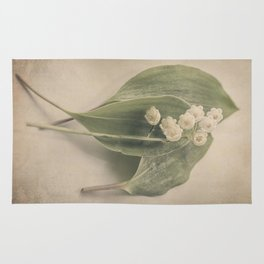 Scents of Spring - Lily of the Valley iv Rug