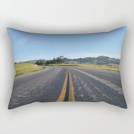 CA Road Rectangular Pillow