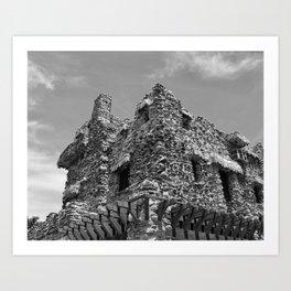 Gillette Castle Art Print