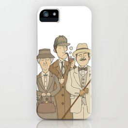 The Detectives iPhone Case