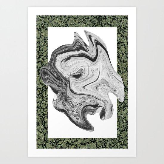 LIQUIDO Art Print