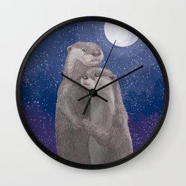 Under the Moonlight Wall Clock