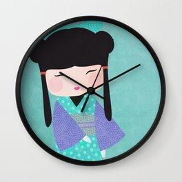 Koeshi Yoko gros plan Wall Clock