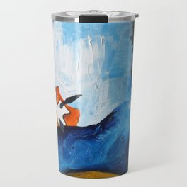 Orange Nudibranch Travel Mug