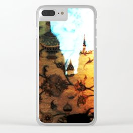Halle in a Carpet Image 1 Clear iPhone Case