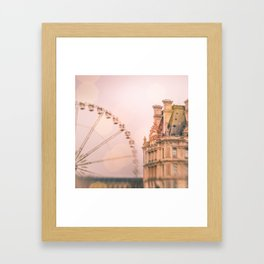 Mon Ami, Paris! Framed Art Print