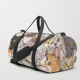 A lot of Cats Duffle Bag