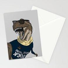 Hipstereosaurus Rex Stationery Cards