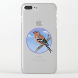 Spring sky Clear iPhone Case