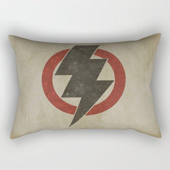 lightning strike zone Rectangular Pillow