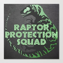 RPS (Raptor Protection Squad) - DELTA Canvas Print