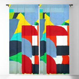 Otto Freundlich Composition 38 Blackout Curtain