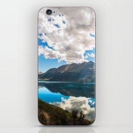 Lake Wakatipu Panorama at Golden Hour iPhone Skin