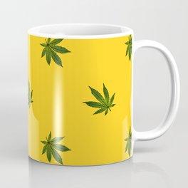 Cannabis Leaf (Mini) - Gold Coffee Mug