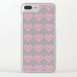 SOFT VALENTINE Clear iPhone Case