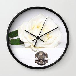 Secret Rose Wall Clock