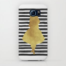 Alice black and gold. iPhone Case