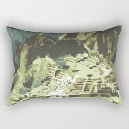 Machu Picchu Peru Rectangular Pillow