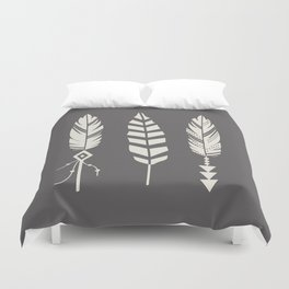 Gypsy Feathers Duvet Cover