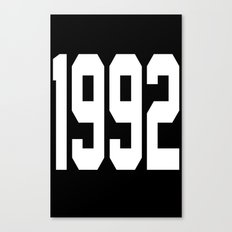 1992 Canvas Print