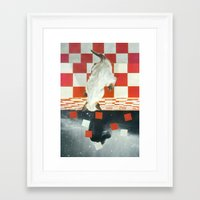 vertigo Framed Art Prints featuring Vertigo by Peter Campbell