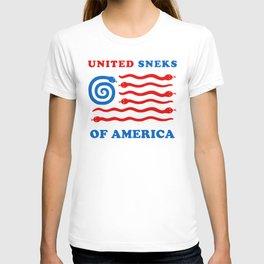 United Sneks Of America T-shirt