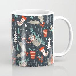 Slothy Holidays Coffee Mug