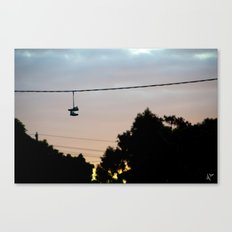 Melbourne Sole Canvas Print