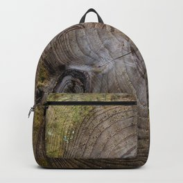 Tree Rings rustic decor Backpack