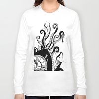 games Long Sleeve T-shirts featuring Mind Games by Sophie Bland