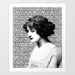 Miss Lily Elsie Art Print
