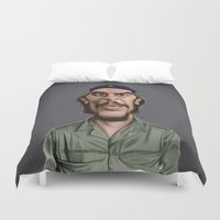 che Duvet Covers featuring Celebrity Sunday ~ Che Guevara by rob art | illustration